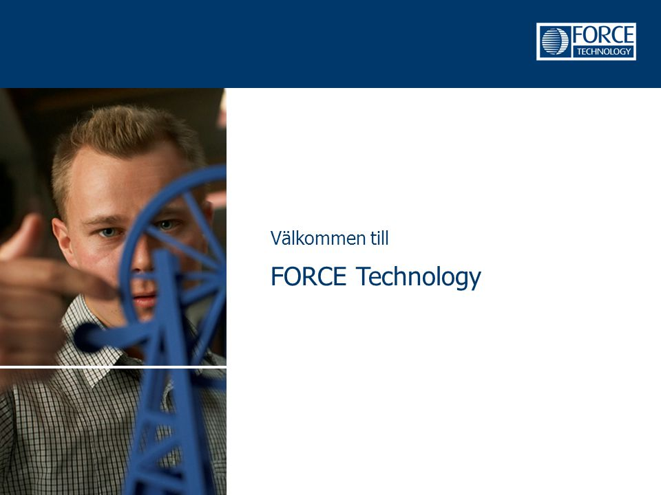 Välkommen till FORCE Technology