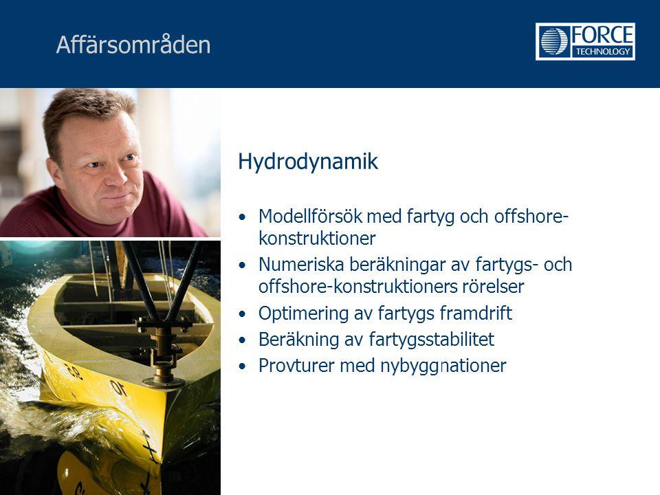 Affärsområden Hydrodynamik