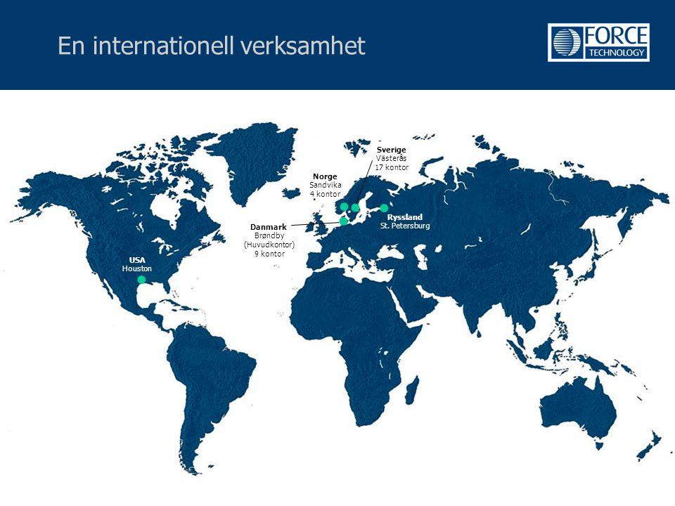 En internationell verksamhet