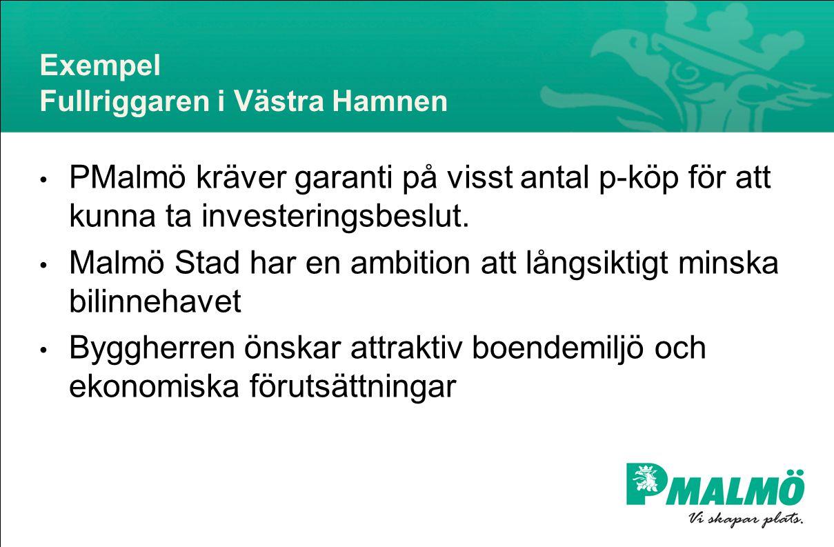 Exempel Fullriggaren i Västra Hamnen