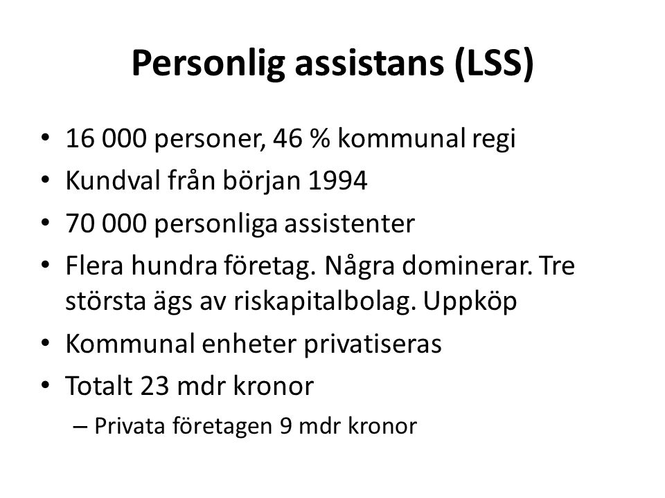 Personlig assistans (LSS)