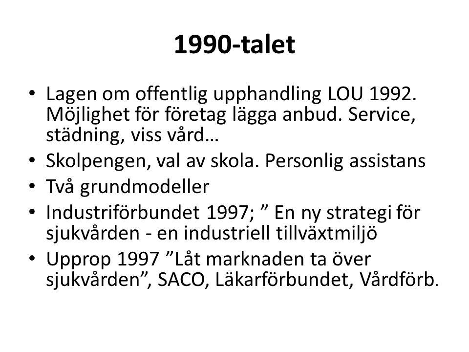 Kommersialisering av vård o omsorg 2013 04 13
