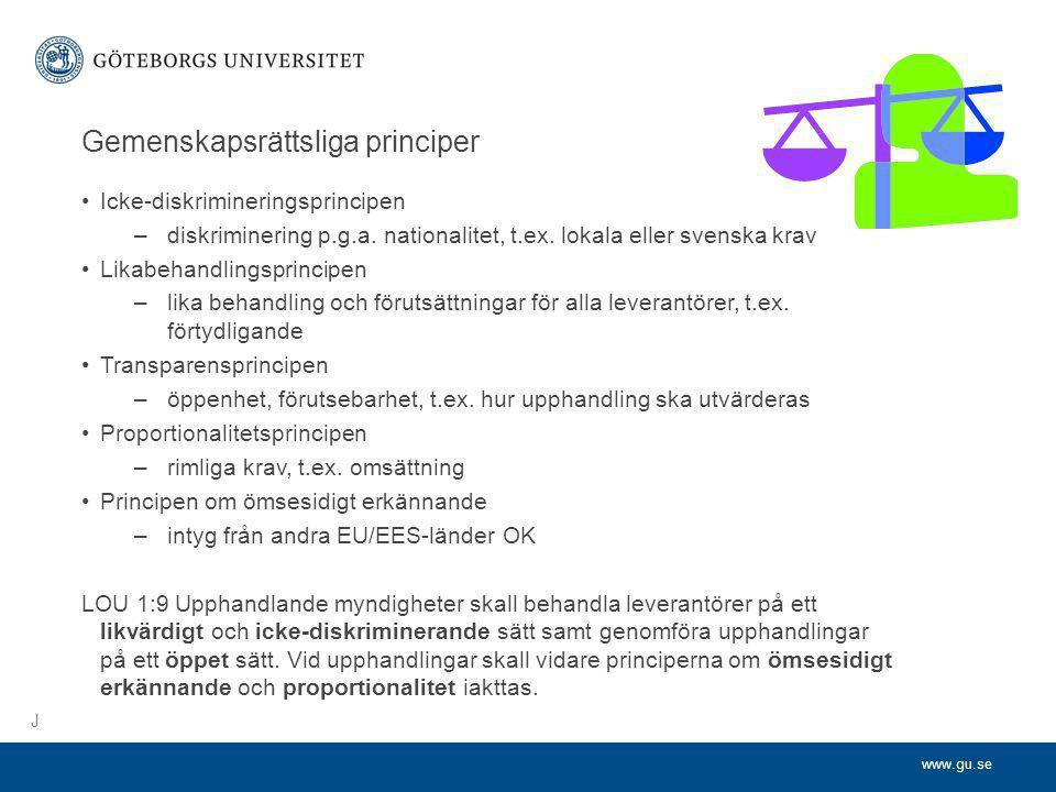 Gemenskapsrättsliga principer