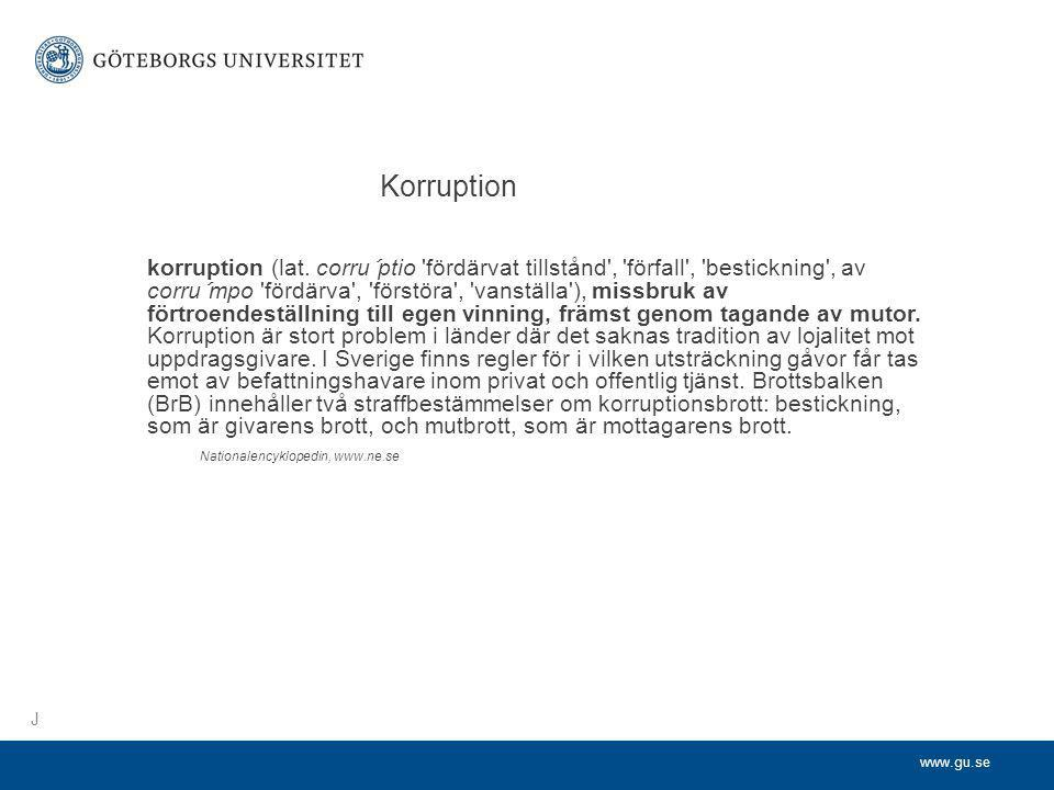 Korruption