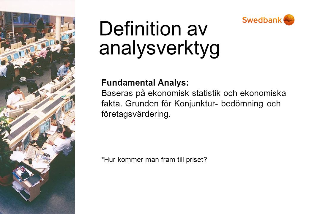 Definition av analysverktyg