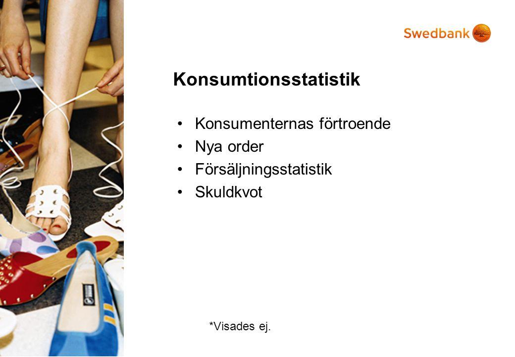 Konsumtionsstatistik