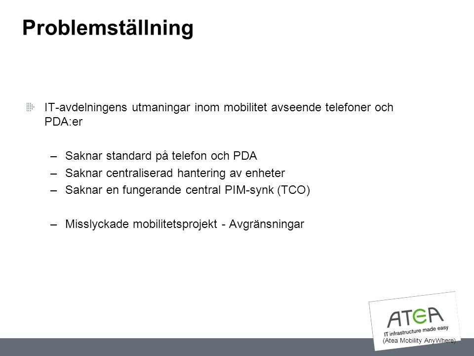 (Atea Mobility AnyWhere)