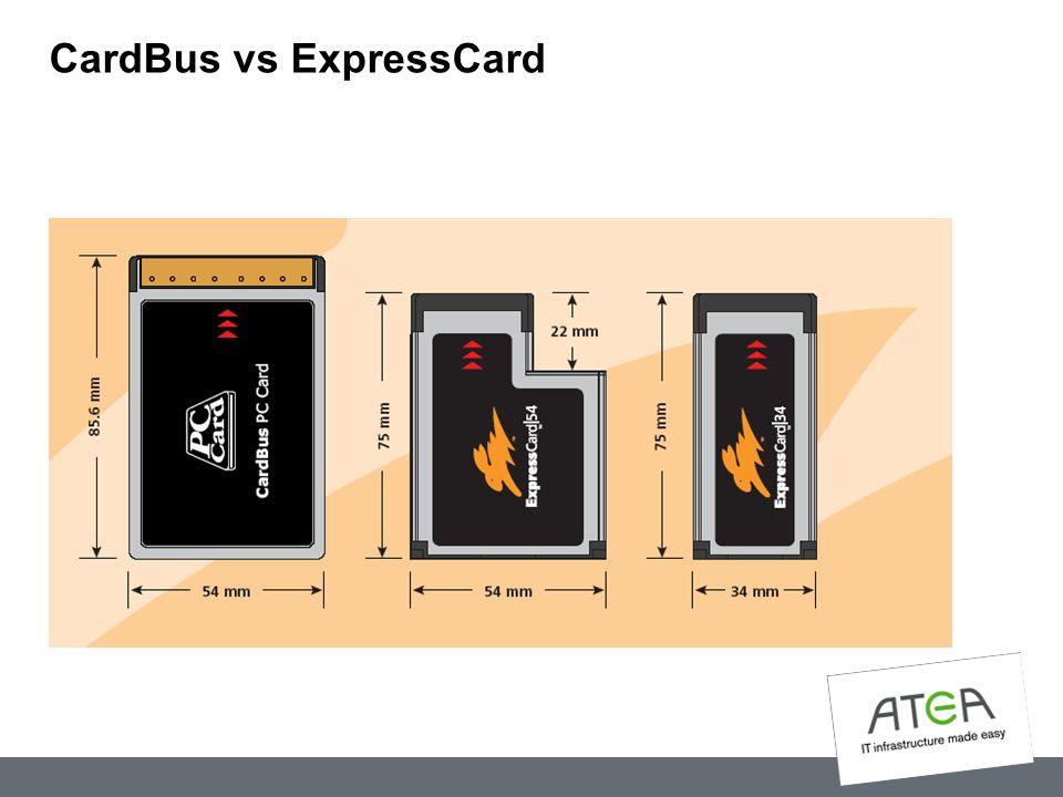 CardBus vs ExpressCard