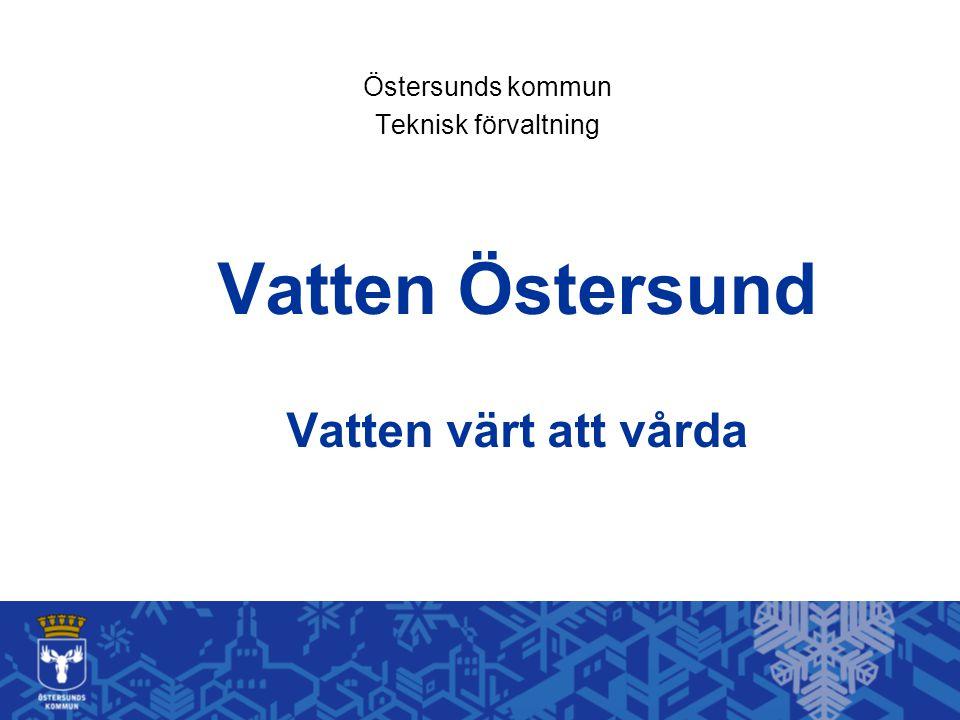 Vatten Östersund Vatten värt att vårda
