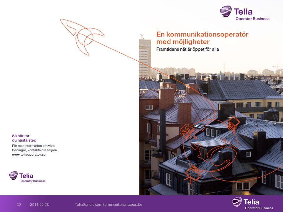 2017-04-03 TeliaSonera som kommunikationsoperatör