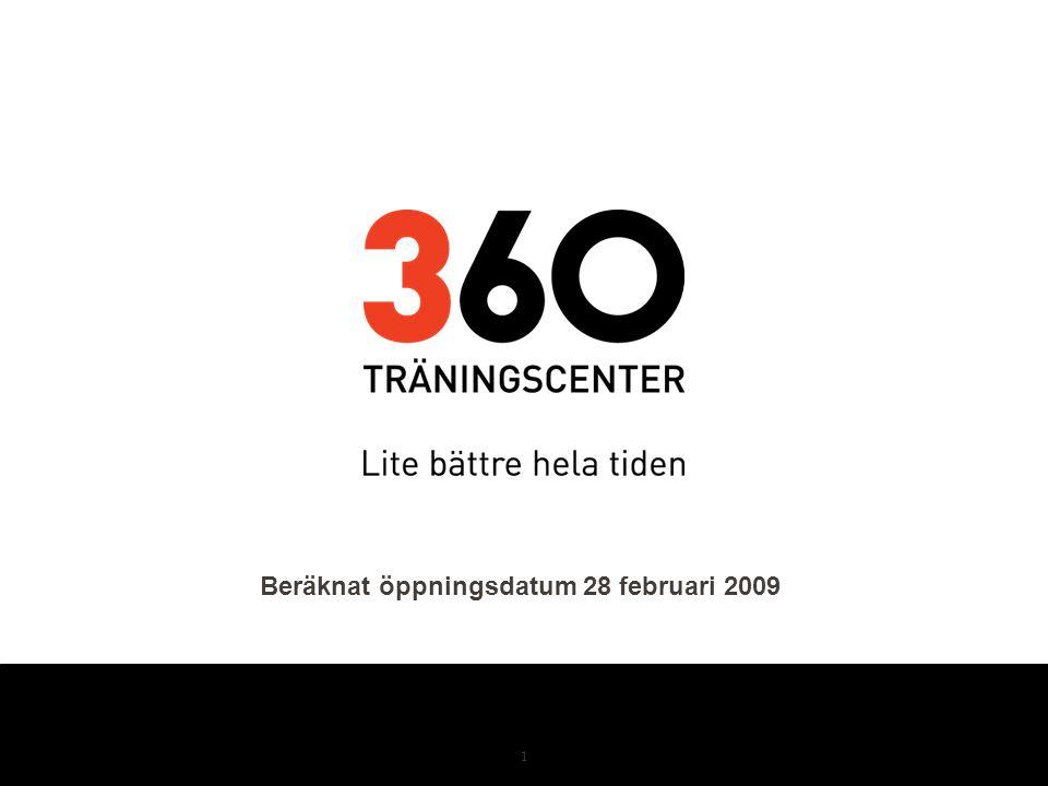 Beräknat öppningsdatum 28 februari 2009