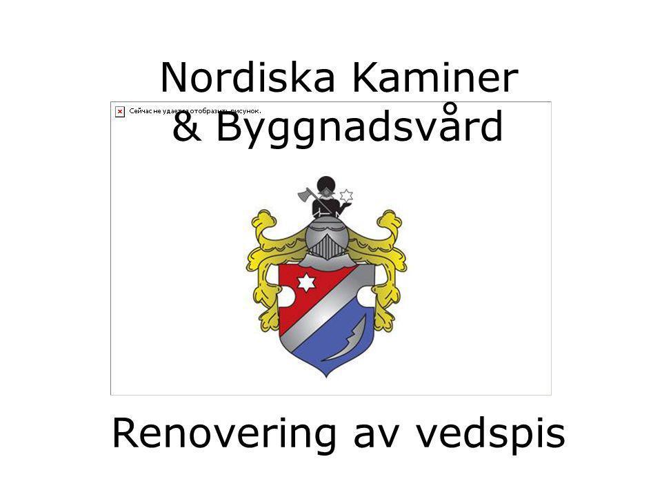 Nordiska Kaminer & Byggnadsvård Renovering av vedspis