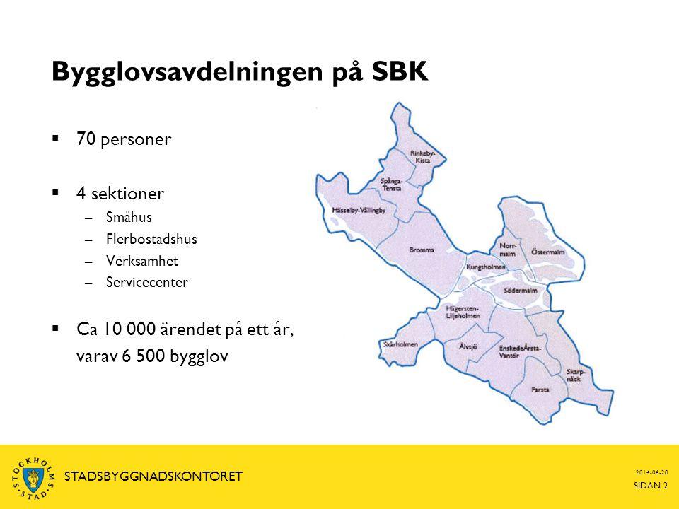 Bygglovsavdelningen på SBK