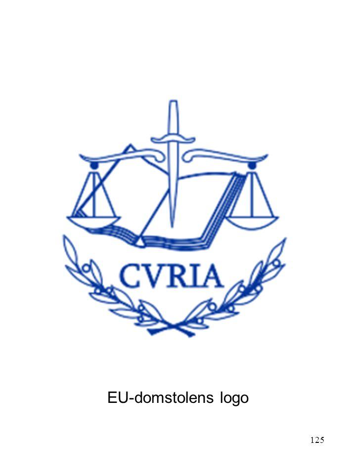 EU-domstolens logo