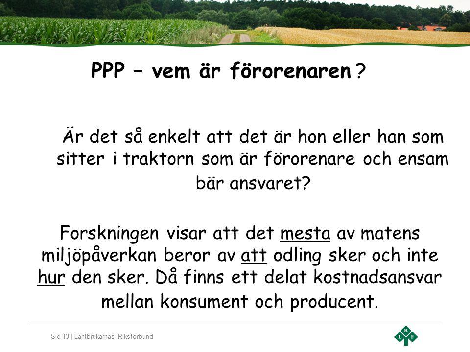 PPP – vem är förorenaren