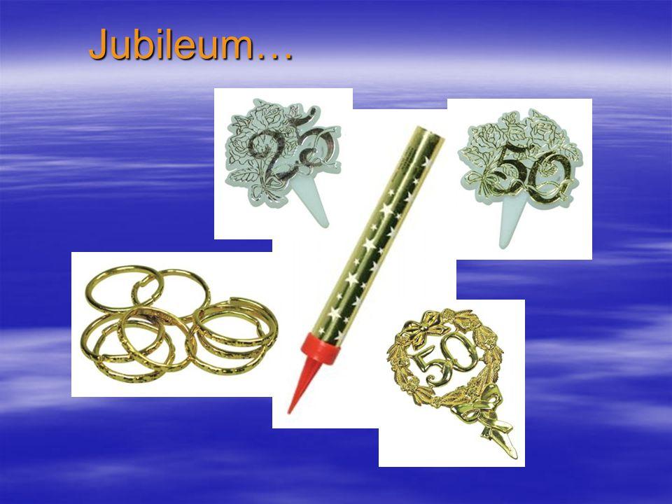 Jubileum…