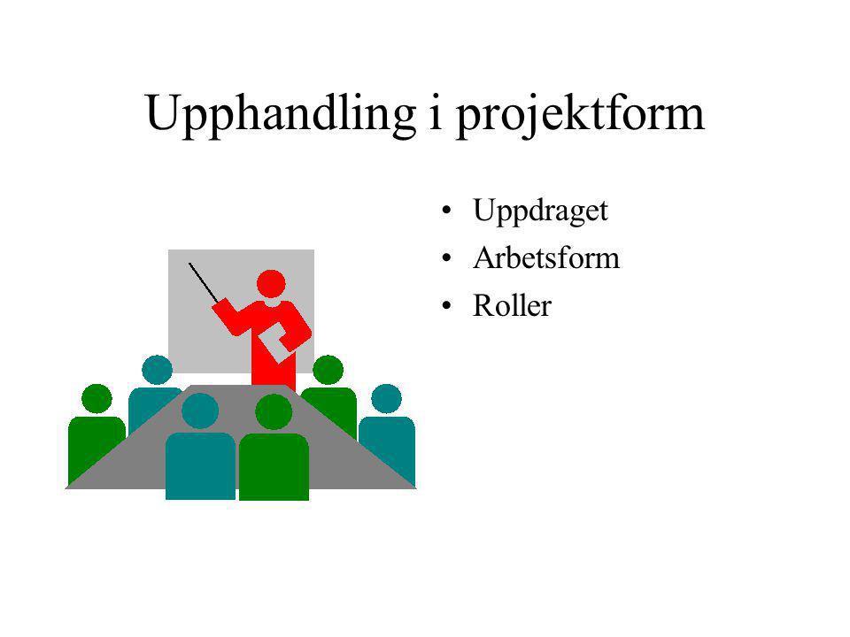 Upphandling i projektform