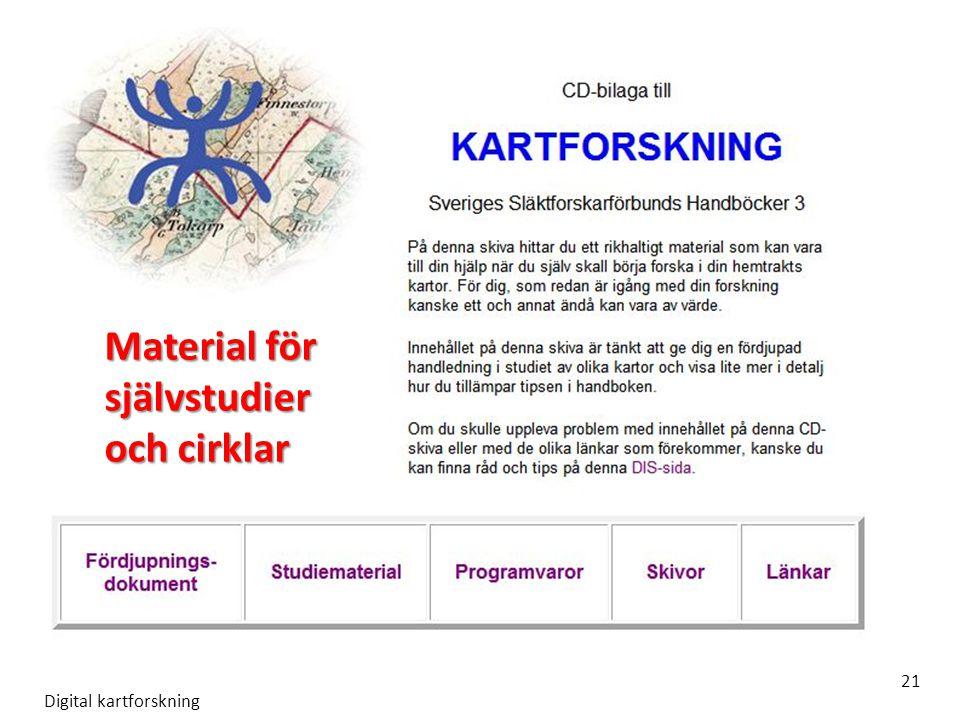 Material för självstudier och cirklar