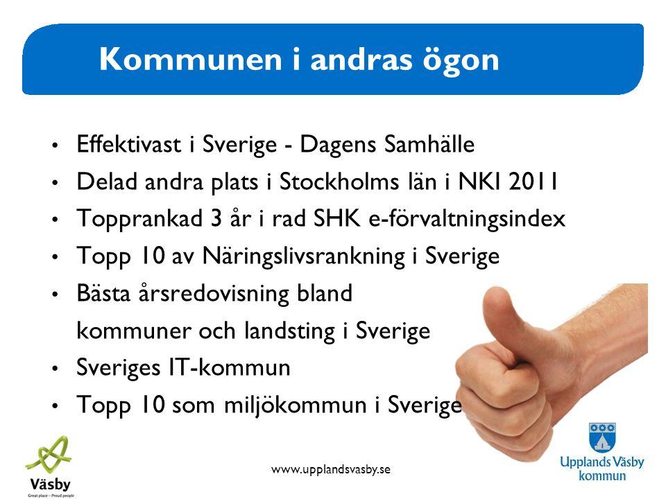 Kommunen i andras ögon Effektivast i Sverige - Dagens Samhälle