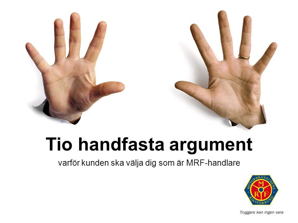 Tio handfasta argument