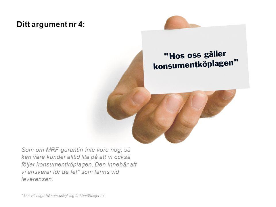 Ditt argument nr 4: