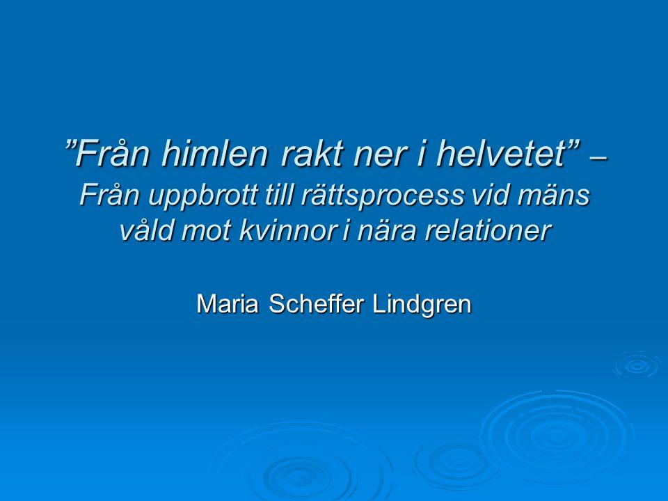 Maria Scheffer Lindgren