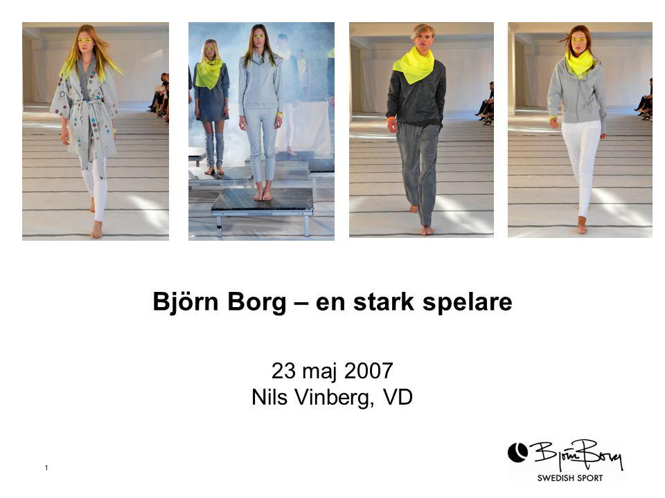 Björn Borg – en stark spelare