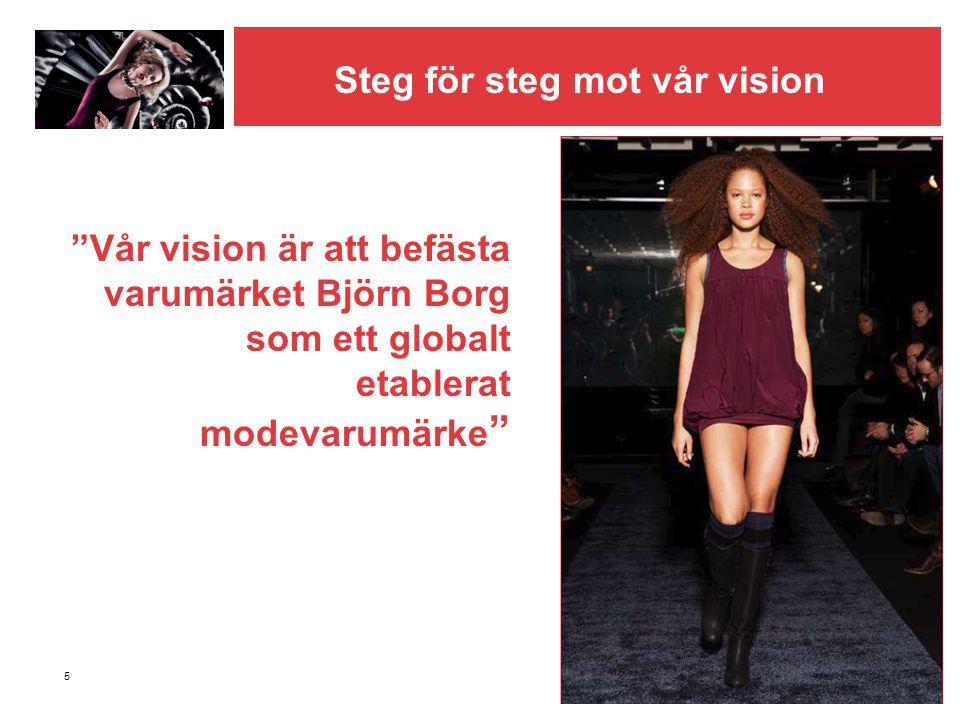 Steg för steg mot vår vision