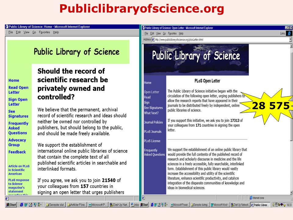 Publiclibraryofscience.org 28 575