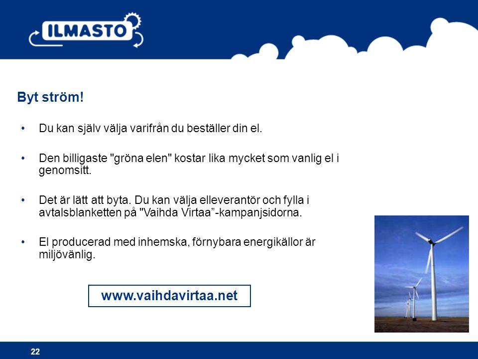Byt ström! www.vaihdavirtaa.net