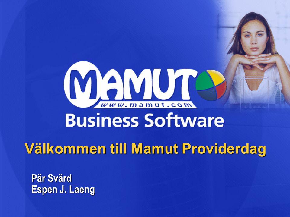 Välkommen till Mamut Providerdag