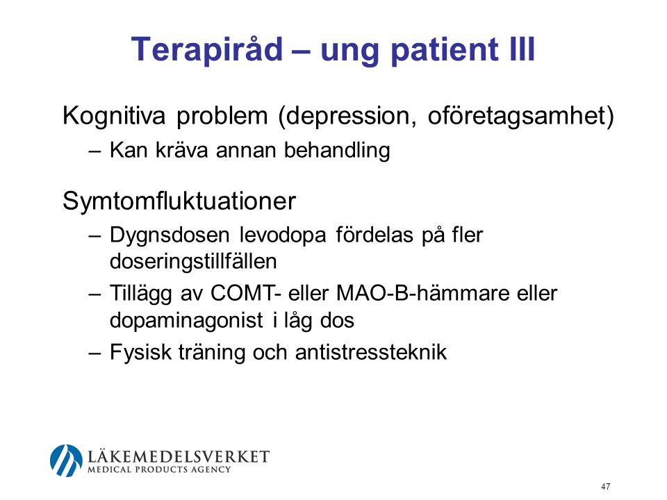 Terapiråd – ung patient III