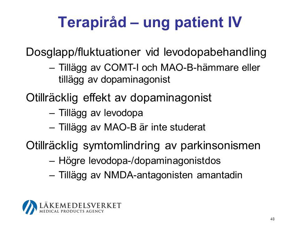 Terapiråd – ung patient IV