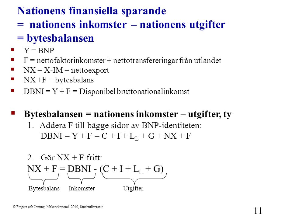 Nationens finansiella sparande