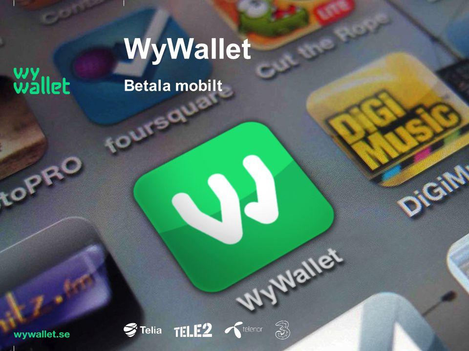 WyWallet Betala mobilt