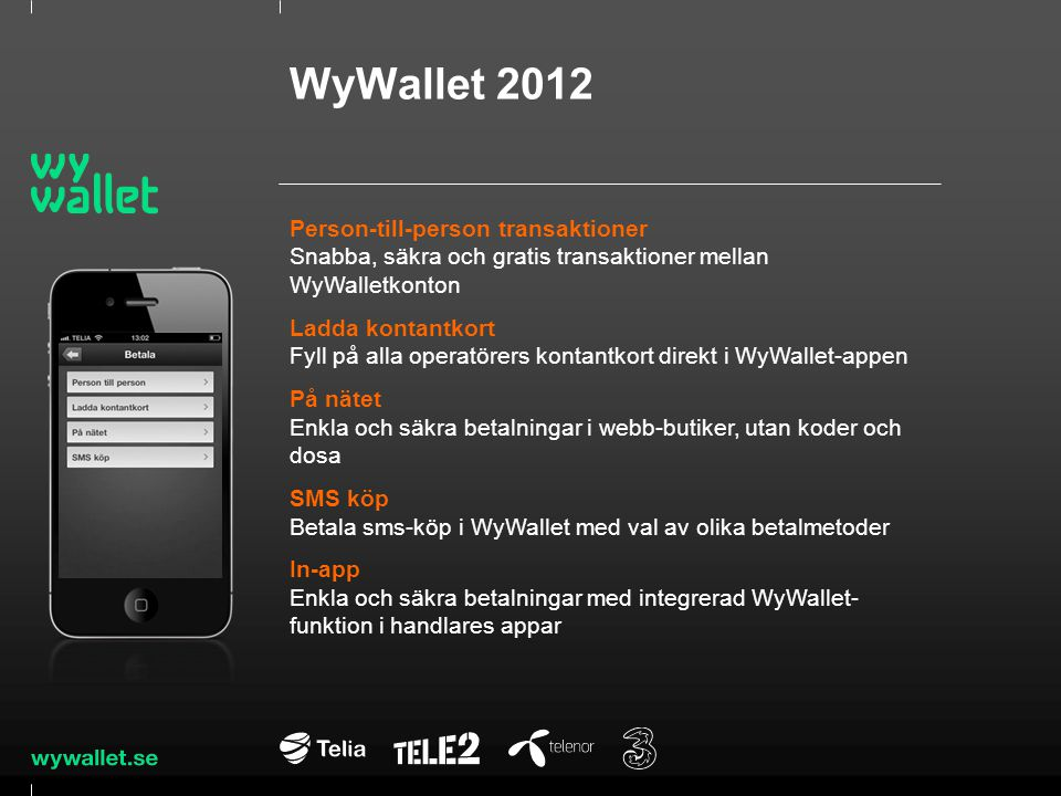 WyWallet 2012