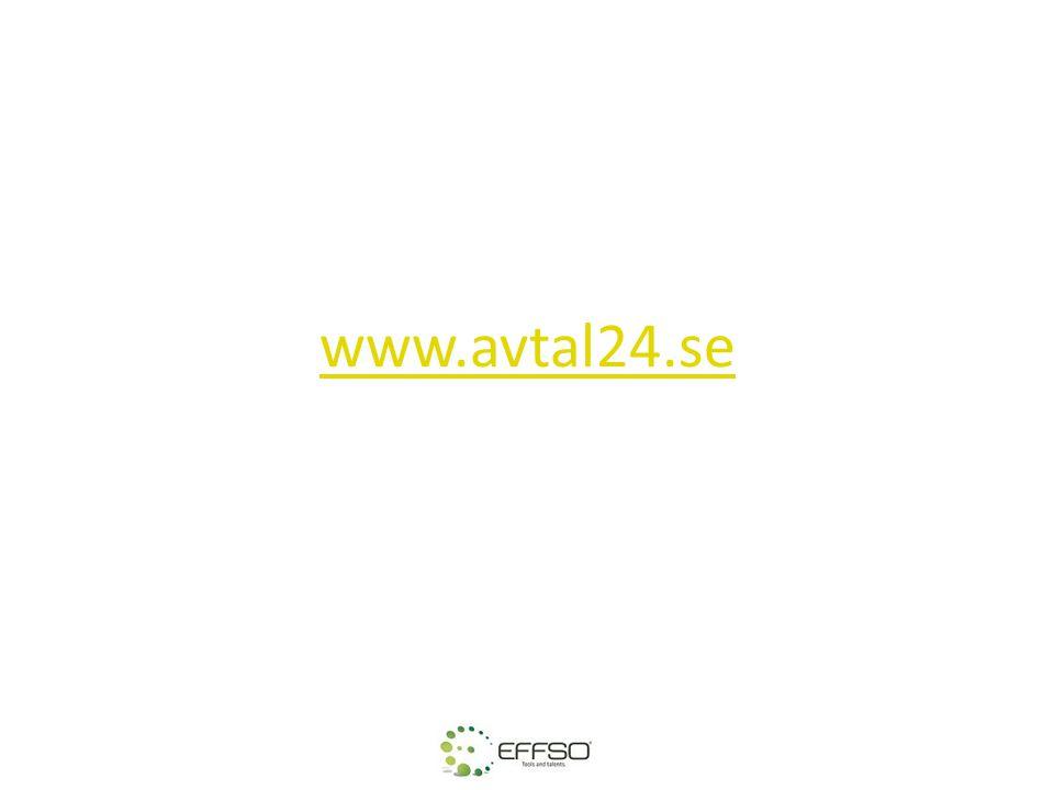 www.avtal24.se Det finns olika sätt att göra avtal på.