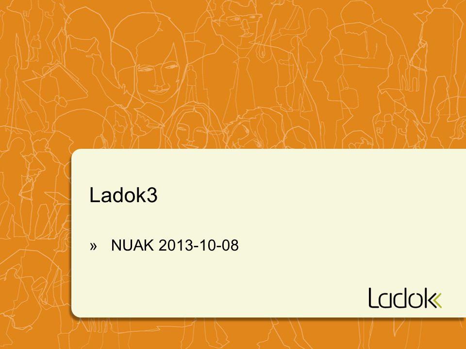 Ladok3 NUAK 2013-10-08