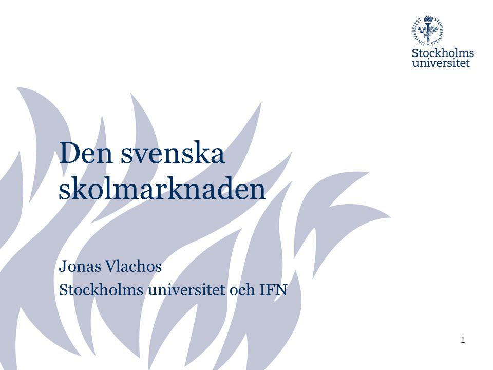 Den svenska skolmarknaden
