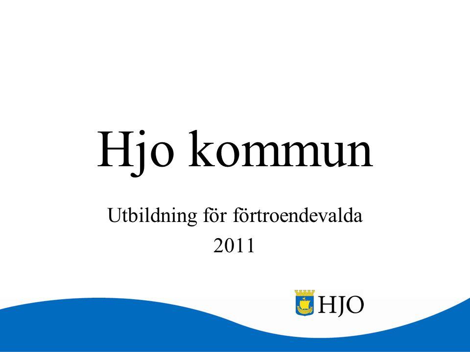 Utbildning för förtroendevalda 2011