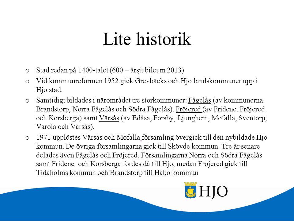 Lite historik Stad redan på 1400-talet (600 – årsjubileum 2013)