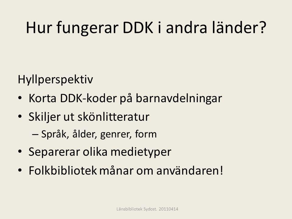 Hur fungerar DDK i andra länder