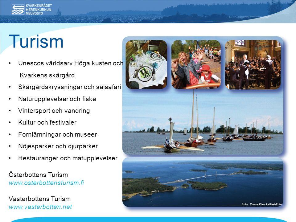 Turism • Unescos världsarv Höga kusten och Kvarkens skärgård
