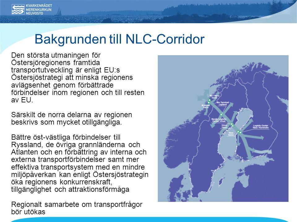 Bakgrunden till NLC-Corridor