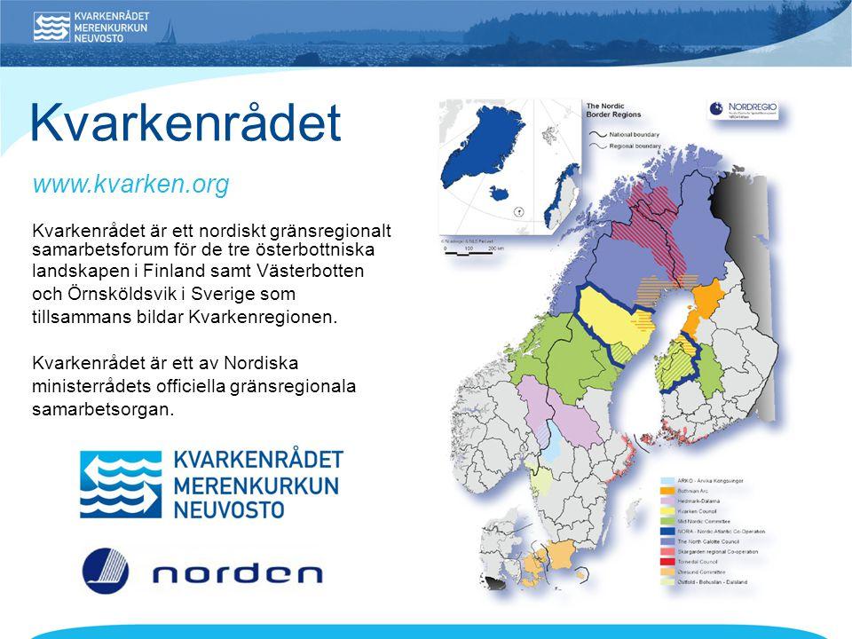 Kvarkenrådet www.kvarken.org