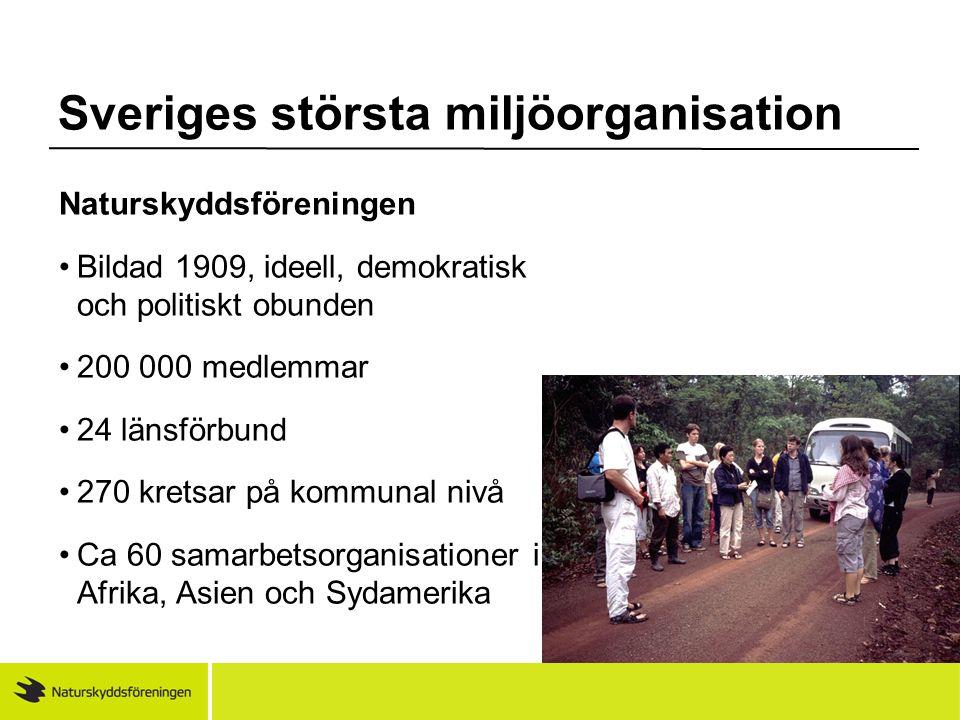 Sveriges största miljöorganisation