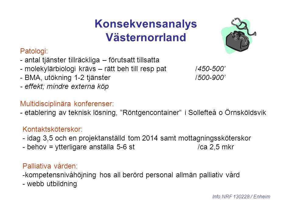 Konsekvensanalys Västernorrland