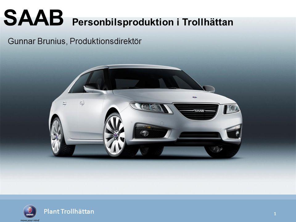 SAAB Personbilsproduktion i Trollhättan