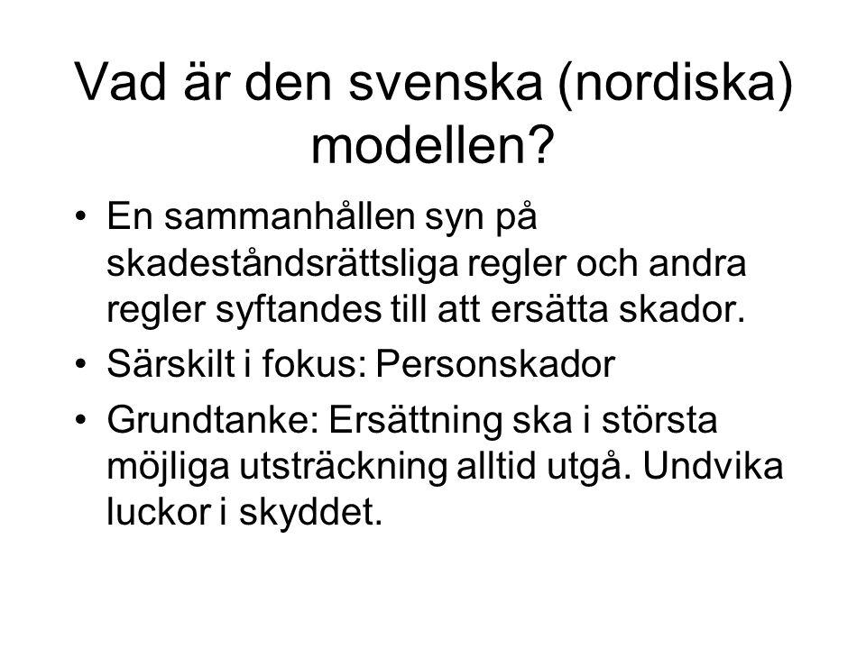 Vad är den svenska (nordiska) modellen