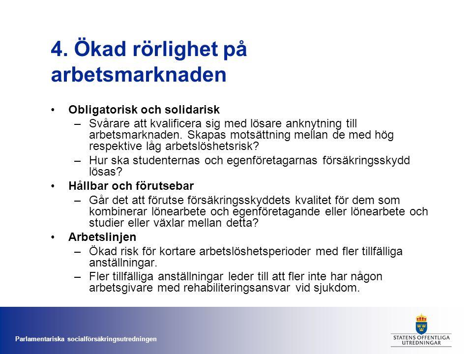 4. Ökad rörlighet på arbetsmarknaden